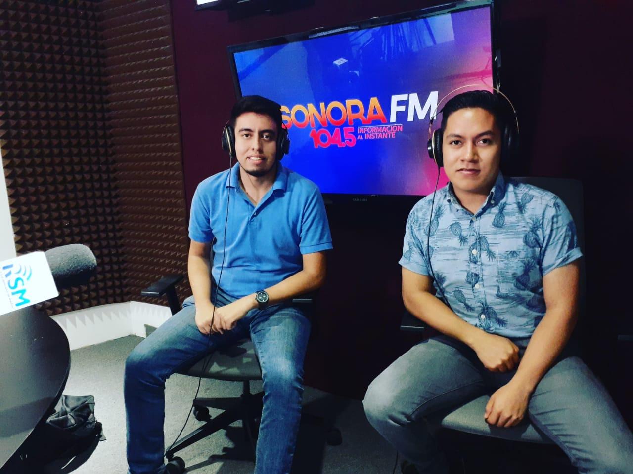 Cabina Radio Sonora FM
